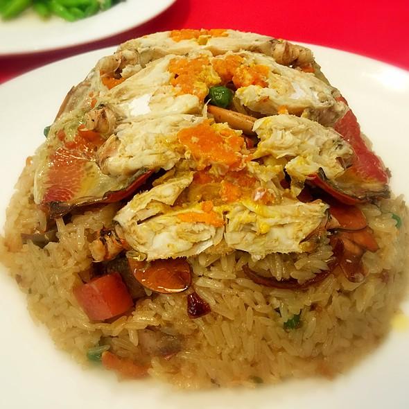 紅蟳米糕 Steamed Crab On Sticky Rice @ Ami Hotel
