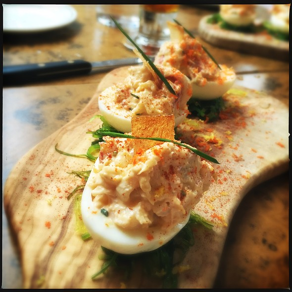 Deviled Eggs @ Beat Hotel