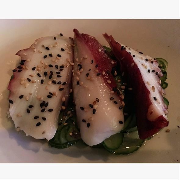 Takosu - Octopus Cucumber Salad - Okura Robata Grill and Sushi Bar - La Quinta, La Quinta, CA