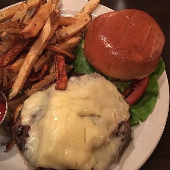 Black Bean Burger - Nage Restaurant, Washington, DC