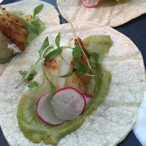 fish tacos @ Barrio Costero