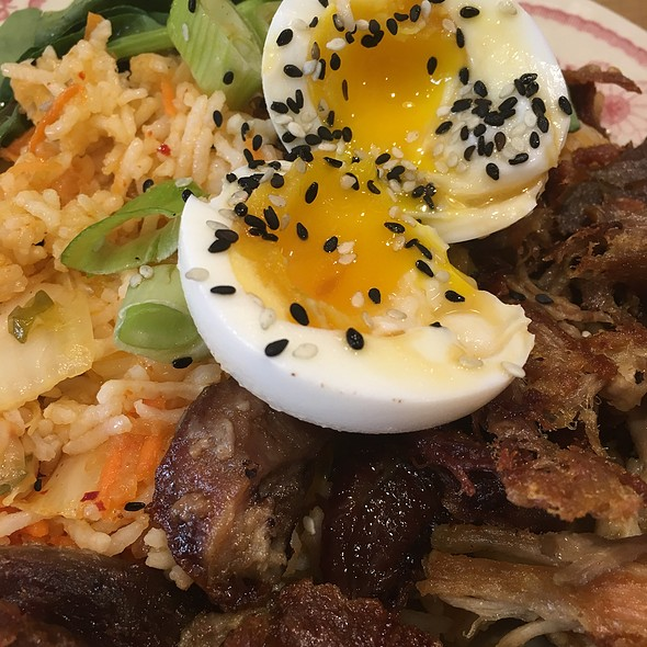 Kimchi Rice bowl @ Talula's