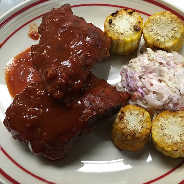 Barbecue Baby Back Ribs @ Rachel's Cafe