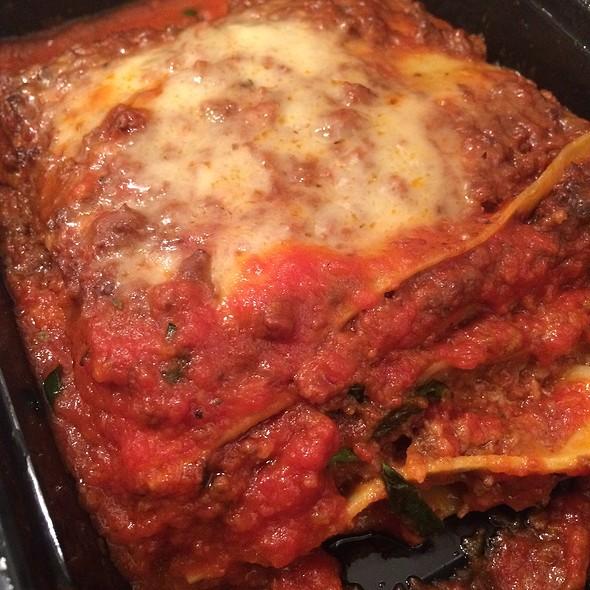Beef Lasagna - Arte Cafe, New York, NY