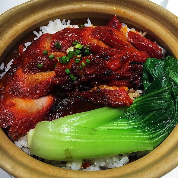 Rice with Char Sui Pork @ North Park Leviste