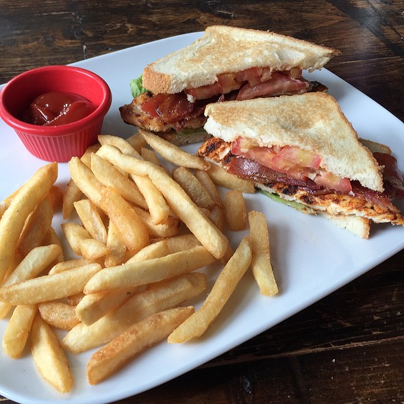 Grilled Chicken Club @ Mama's Boy Southern Table & Refuge