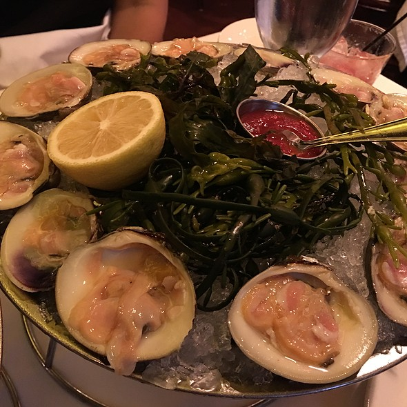 Clams - Keens Steakhouse, New York, NY