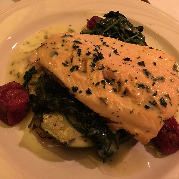 Arctic Char - Keens Steakhouse, New York, NY