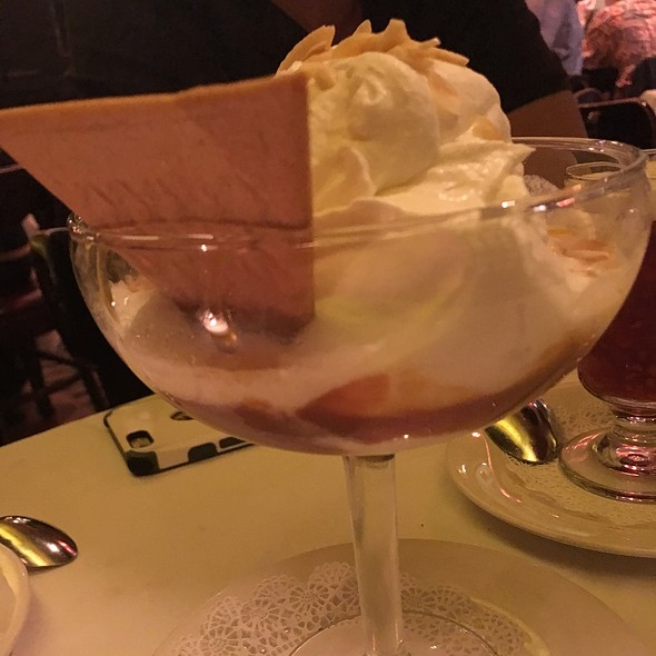 Butterscotch Sundae - Keens Steakhouse, New York, NY