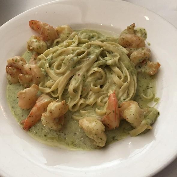 Pesto Shrimp Pasta - Donato's Restaurant, Pittsburgh, PA