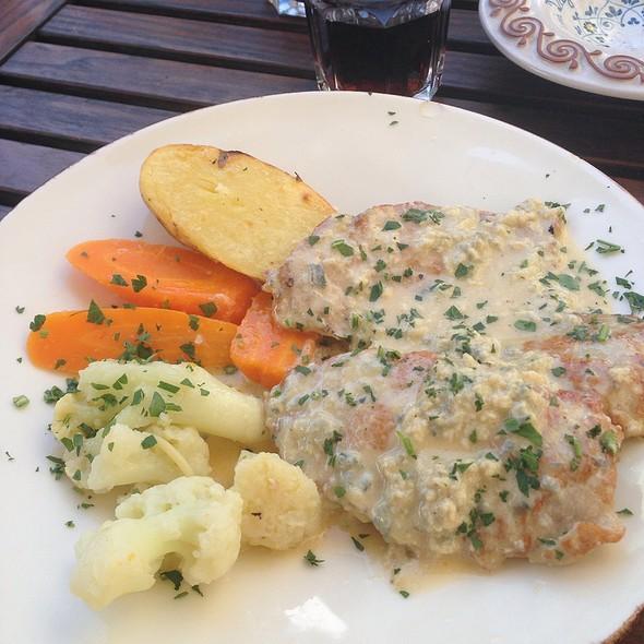 Scallopina Alla Gorgonzola @ Sardinia Day