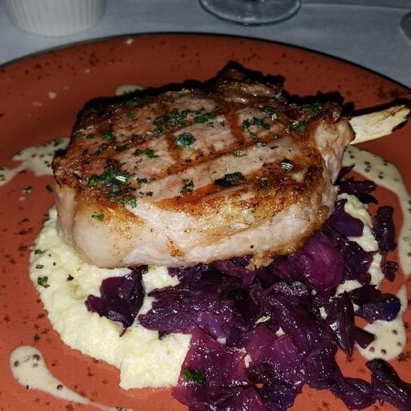 Pork Chop - Mockingbird Bistro, Houston, TX