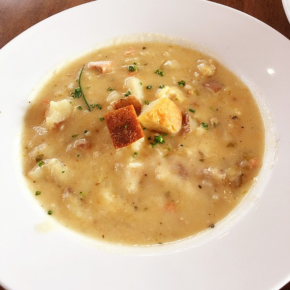 West Coast Seafood Chowder at Boathouse Restaurants in Port Moody, BC