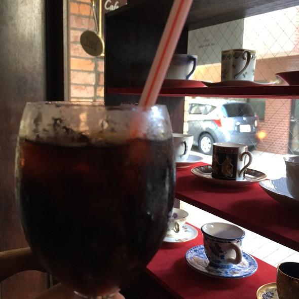 Iced Coffee @ Café Belle Equipe