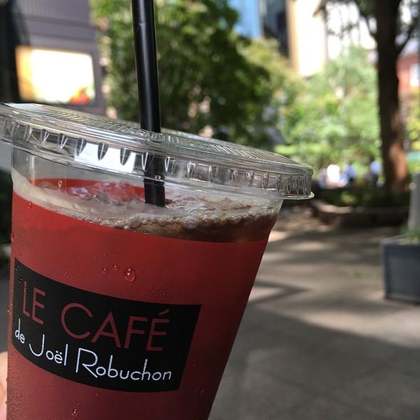 Iced Coffee @ LE CAFE de Joel Robuchon ~ル カフェ ドゥ ジョエル・ロブション~