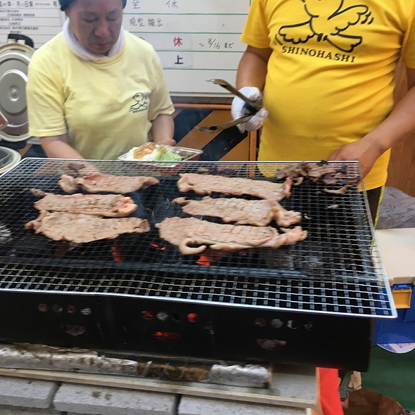 Beef Grilled @ Shi-No-Hashi Festival Food Vendor