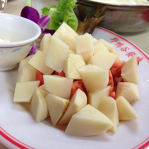 冷筍沙拉 @ 野鴨谷餐廳