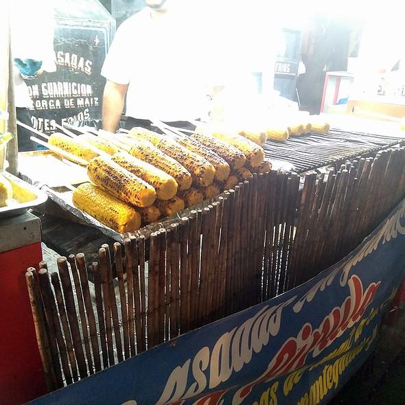 Roasted Corn @ Fiestas de San Cayetano