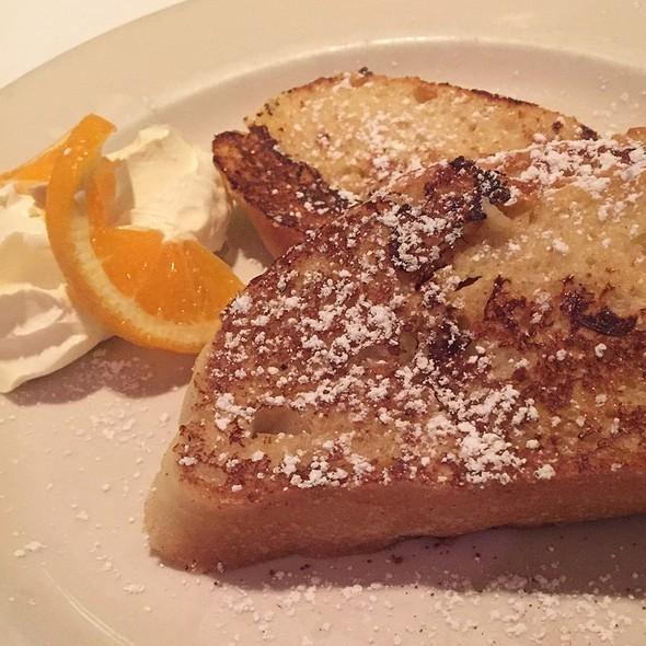 French Toast - Il Fornaio - Palo Alto, Palo Alto, CA