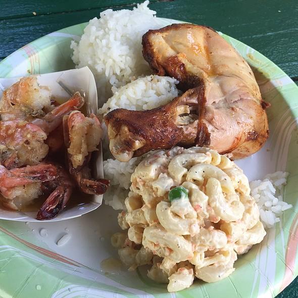 Huli Huli Chicken @ Mike's Kiawe Broiled Huli Huli Chicken
