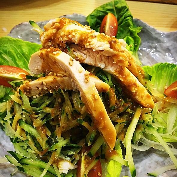 Chicken Salad With Bang Bang Ji Dressing @ Saboten