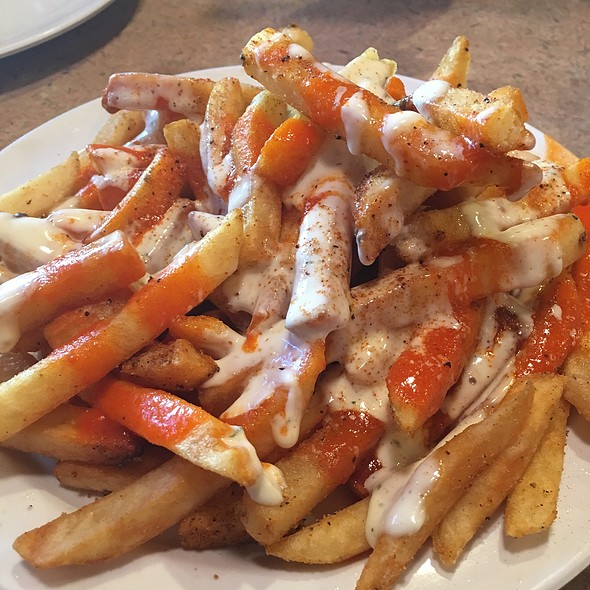 Spicy Ranch Fries @ Mirchi Cafe