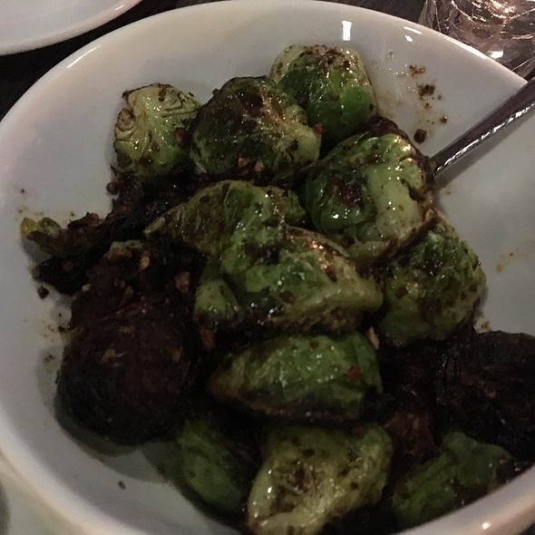 Spicy Brussels Sprouts @ Bistro Z