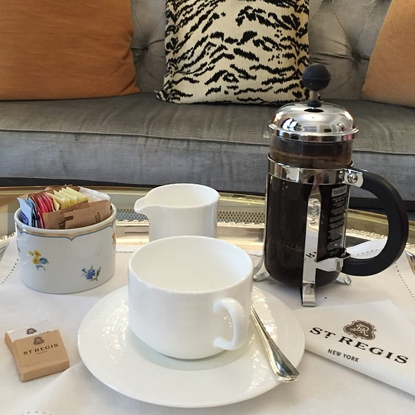 Coffee @ The St. Regis New York