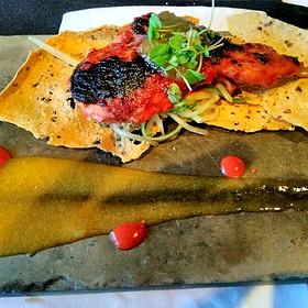 Randall's Chili glazed Quail - The Kitchen Restaurant, Sacramento, CA