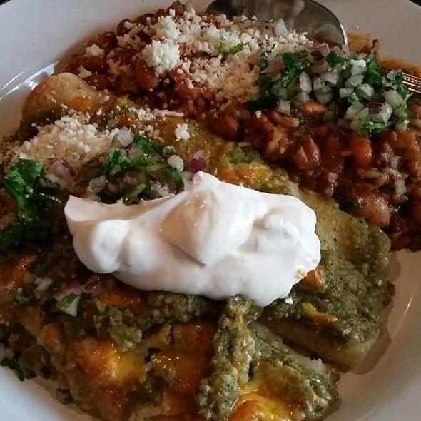 Cheese Enchiladas @ Bar Amá