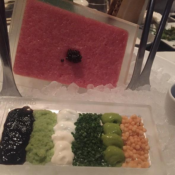 Toro Tartare With Caviar, Sour Cream, Wasabi, And Dashi-Soy - Morimoto - Napa, Napa, CA