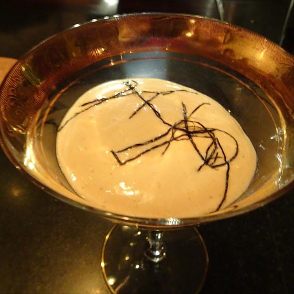 Plum, Foie Gras, Eel, Nori @ Maude Restaurant