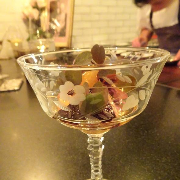 Plum, Foie Gras, Sweet Potato @ Maude Restaurant