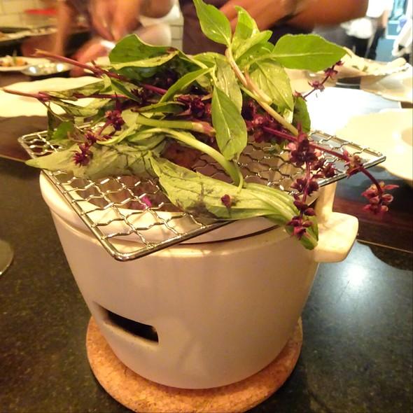 Tsukune And Herbs @ Maude Restaurant