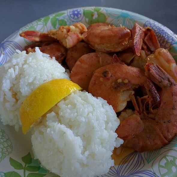 Spicey Shrimp Plate @ Giovanni's Shrimp Truck