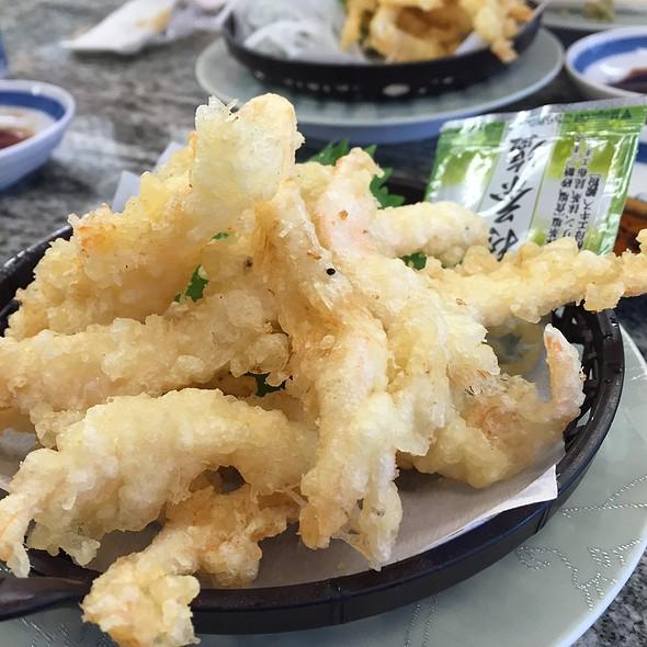白エビの天ぷら @ きときと寿司 砺波店