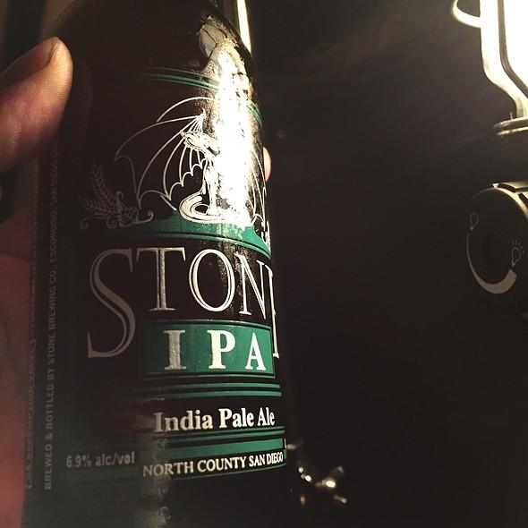 Stone IPA @ 利賀国際キャンプ場
