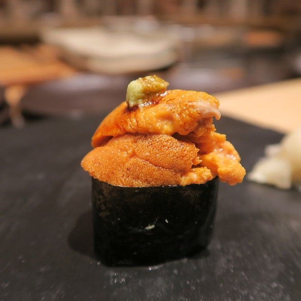 Hokkaido Uni @ Sushi Zo