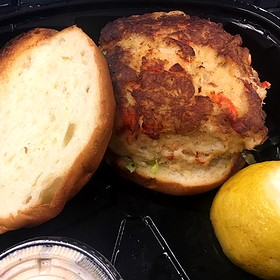 Lobster And Crab Burger