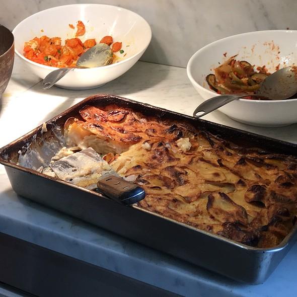 Potatoes Au Gratin @ La Rôtisserie du Beaujolais