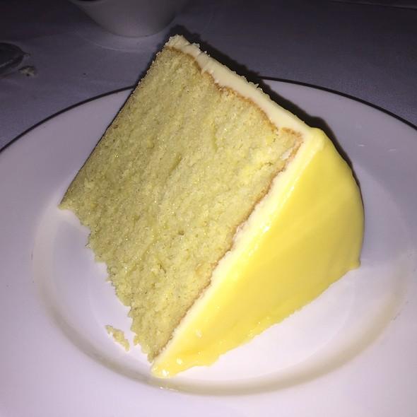 7-Layer Lemon Cake - Del Frisco's Double Eagle Steak House - New York City, New York, NY