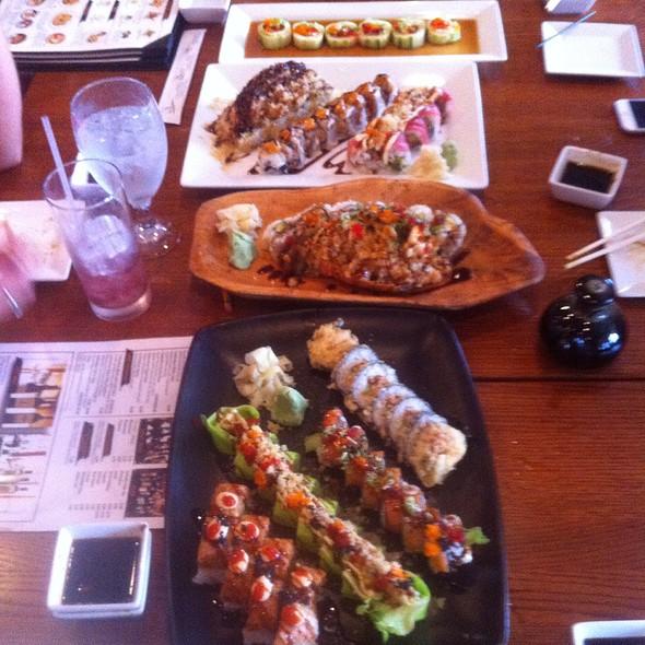 Nine Specialty Sushi Rolls