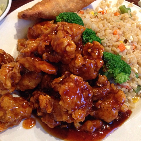 General Tao's Chicken With Fried Rice