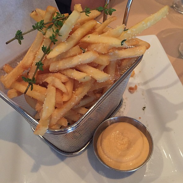 Truffle Fries - SOLSTICE Restaurant & Wine Bar, Mississauga, ON