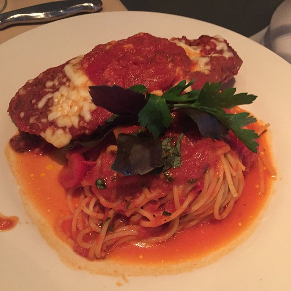 Veal Parmigiano - SOLSTICE Restaurant & Wine Bar, Mississauga, ON