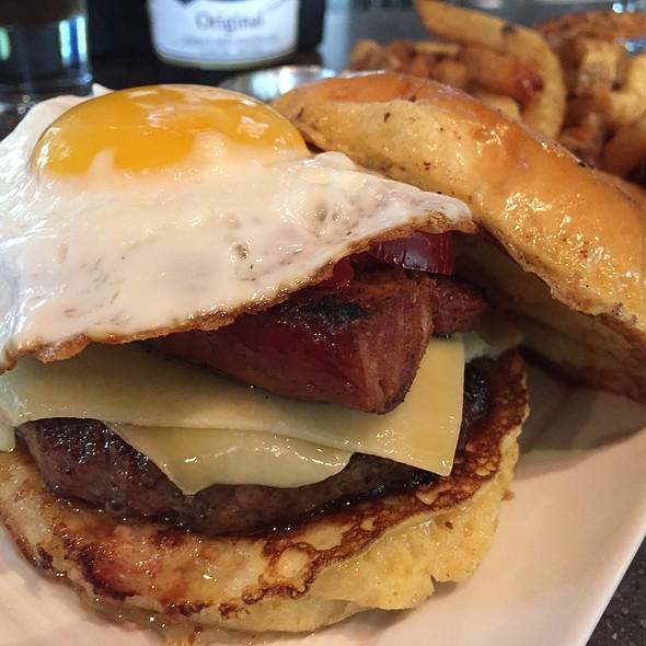 Bada Bing Breakfast Burger - Rustico, Alexandria, VA