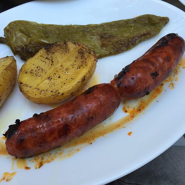 Chorizo A La Brasa @ Bar Restaurante Alegre