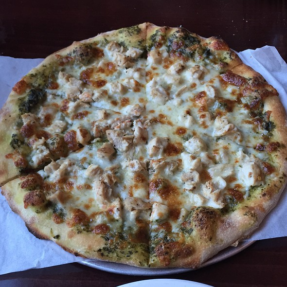 Liguria Pizza @ Via Sforza Trattoria