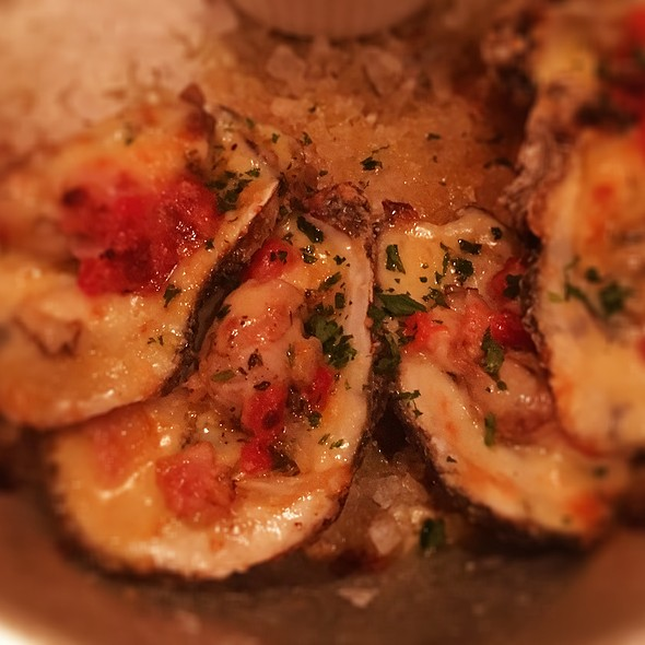 Baked Oysters @ Pelican Club