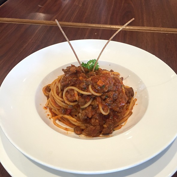 Spaghetti Bolognese @ Coffee Bean And Tea Leaf Seria